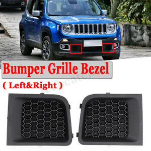 For 2015 2017 Jeep Renegade Pair Lh Rh Front Bumper Lower Grille