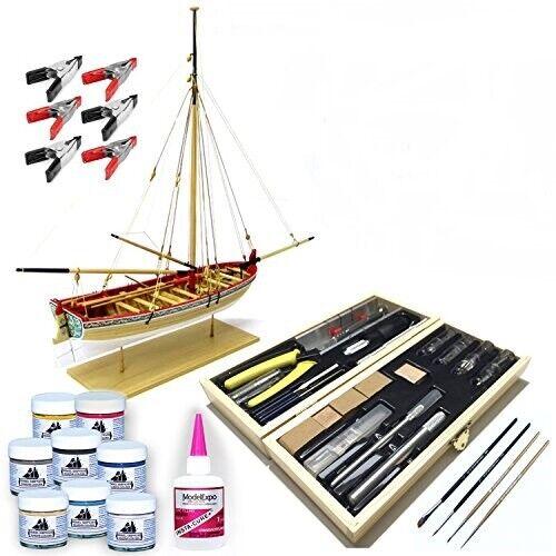 Model Shipways 1457TL 18th Century Longboat Model Ship Kit