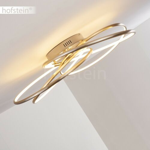 LED Design Flur Decken Lampen Fernbedienung dimmbar Wohn Schlaf Zimmer Leuchten
