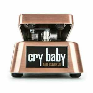 Used Dunlop GCJ95 Crybaby Gary Clark Jr Wah Guitar Effects Pedal