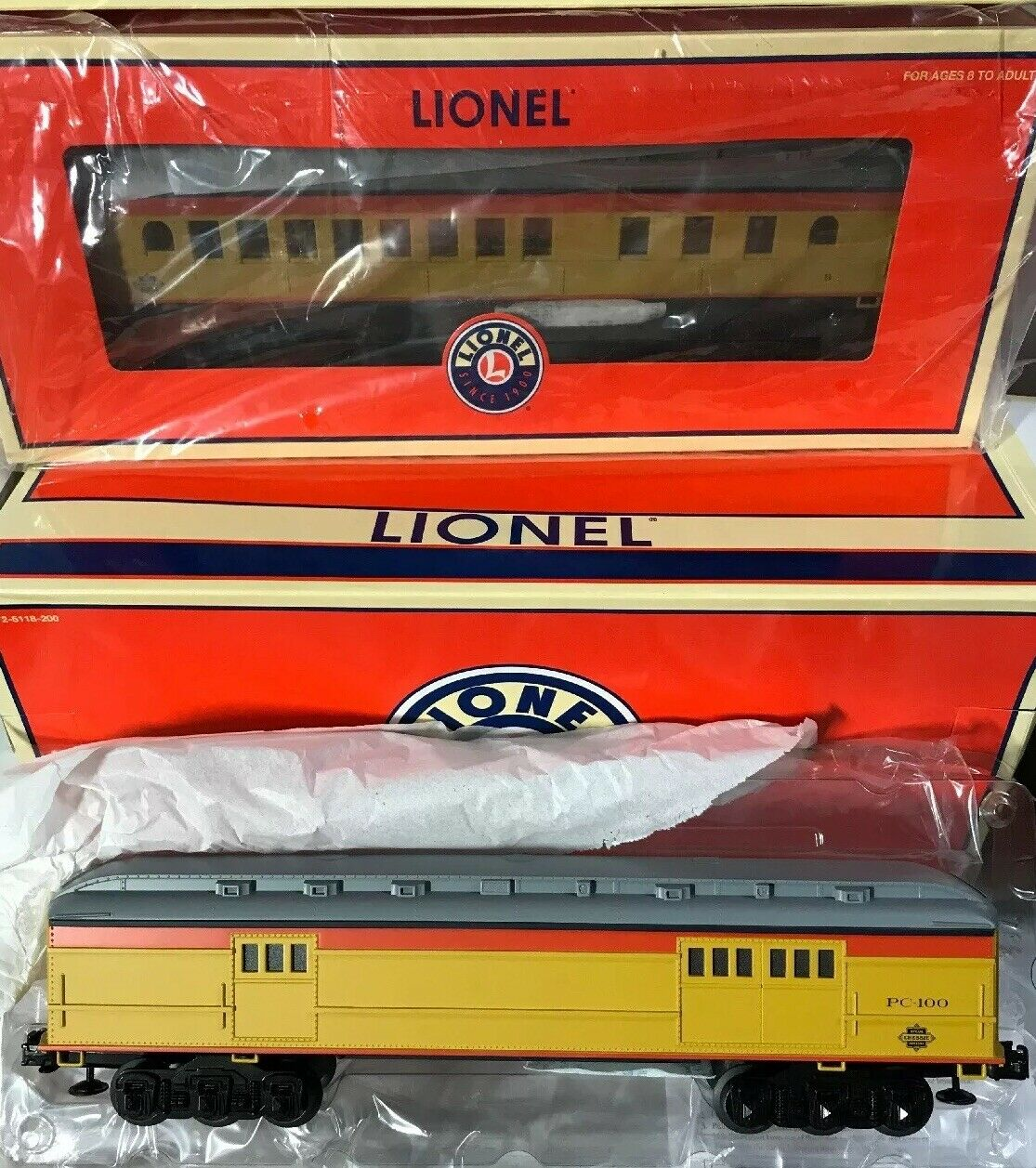 Lionel 625103  Chessie Vapore specialeee Madison Auto 2Pack  Nuovo in Scatola