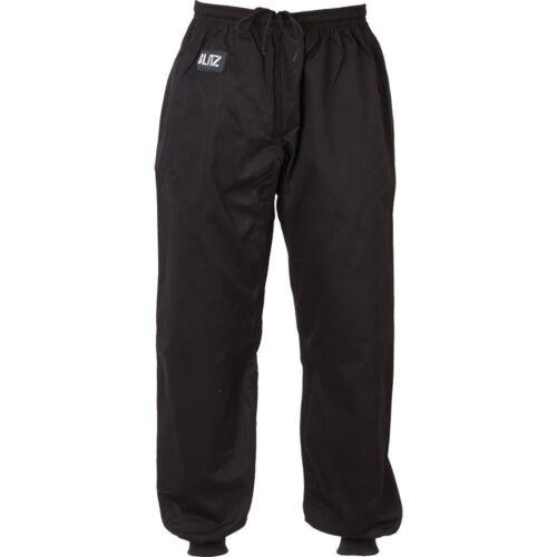 Black Blitz Adult Kung Fu Pants
