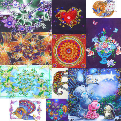5D DIY Special Shaped Diamond Painting Pattern Embroidery Cross Stitch Kits GIFT