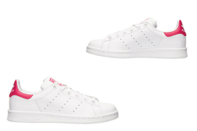 Youth/kids Adidas ORIGINALS STAN SMITH B32703 White/White/Pink