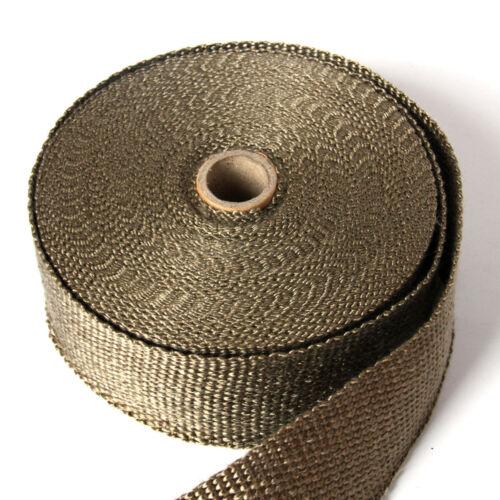Manifolds Car Exhaust Pipe Tape Thermal Wrap Fiberglass Heat Insulation Fiber