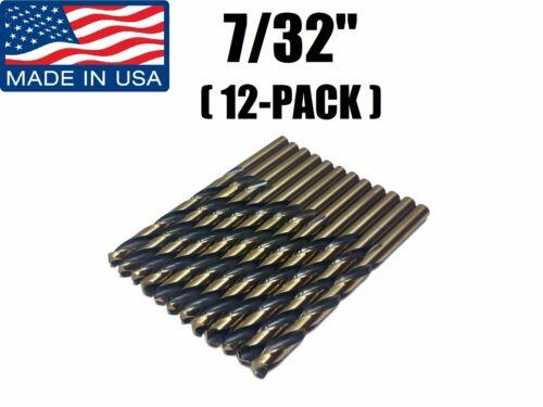 "12-PACK Viking USA Drill Bit Super Premium High Speed 7//32/"" 05680 Norseman"