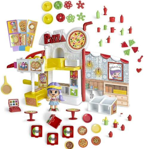 Playset PiniPon Mix Max Pizzeria con Bambola Personaggio e Accessori Gioco