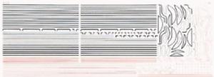 HMRS 5P OO Gauge LNER Loco Lining Pressfix Transfer Sheet