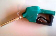 """Diesel FUEL Commercial NOZZLE AUTO SHUTOFF 3/4"""" Farm Automatic Green spout wHook"""