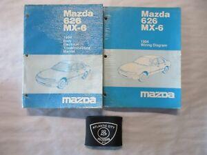 image is loading 1994-mazda-626-mx-6-body-electrical-troubleshooting-