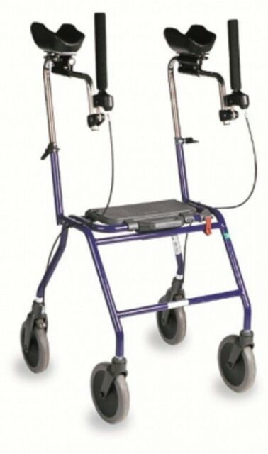 thoughts on finest selection separation shoes Dolomite Walker D12230 Alpha Rollator Basic Sapphire Blue Walking Aid