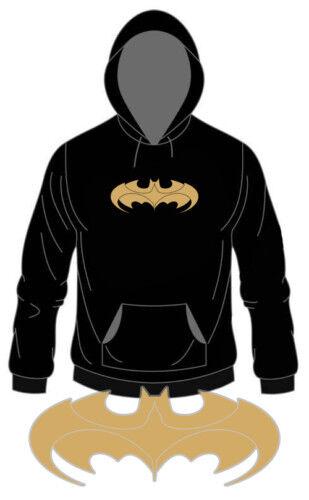 "Kapu /""BATMAN/""  Golddruck S Hoody Kapuzen-Sweater XXL"