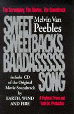 MELVIN VAN PEEBLES.SWEET SWEETBACK'S BAADASSSSS SONG.HARDBACK BOOK & CD.EW&F