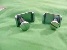 2 RIM CLAMPS-head light shell rim clips-NORTON MATCHLESS SUNBEAM Triumph BSA AJS