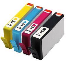 4 Pack Ink Cartridge for HP 564XL Officejet 4620 4622 (Black & Color)