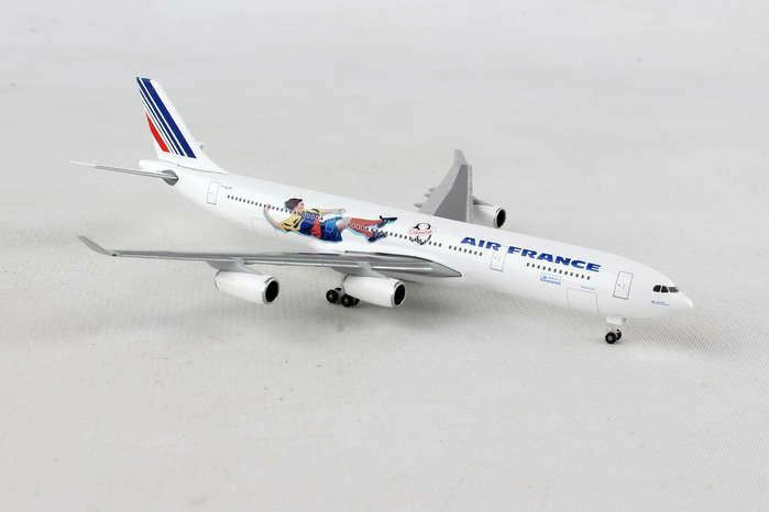 HERPA WINGS 1 500 SCALE AIR FRANCE A340-300 FRANCE 1998 BRAZIL COLUMBIA HE531412