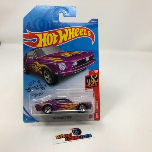 WD8 2020 Hot Wheels Case P Purple /'68 Shelby GT500 #169