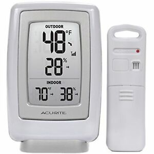 Acurite Wireless Weather Thermometer Indoor Outdoor Temperature Humidity