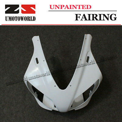 Unpainted front nose Top Fairing For YAMAHA 2004-2006 R1 YZFR1 Upper Cowl 05