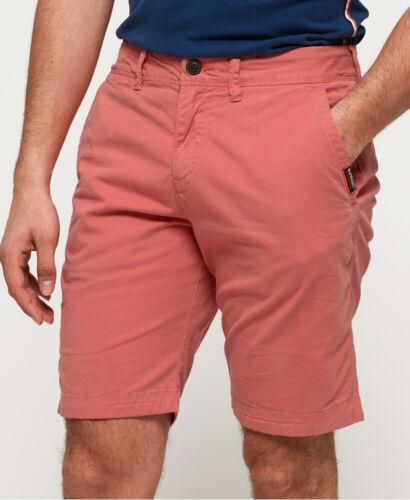 Superdry Mens International Slim Chino Lite Shorts