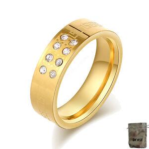 G Produkte Werden Ohne EinschräNkungen Verkauft 20mm B: 6mm R2604 Original Enez Ring Trauring Ehering Edelstahlring Gr: 10