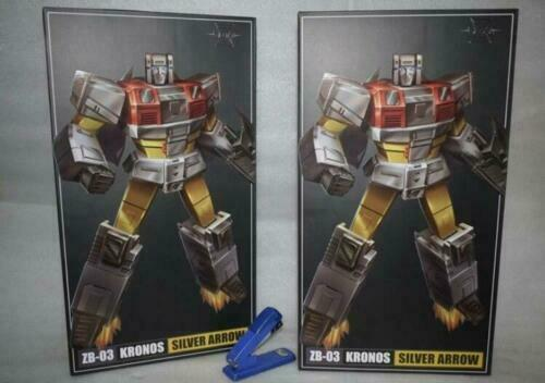 IN STOCK New Transformers Toys Zeta ZB-03 Silver Arow G1 Superion Silverbolt