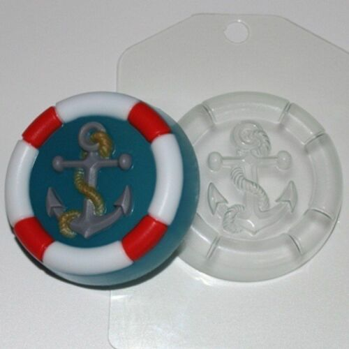"""/""""Anchor/"""" jabón de plástico Molde Molde de fabricación de jabón"""