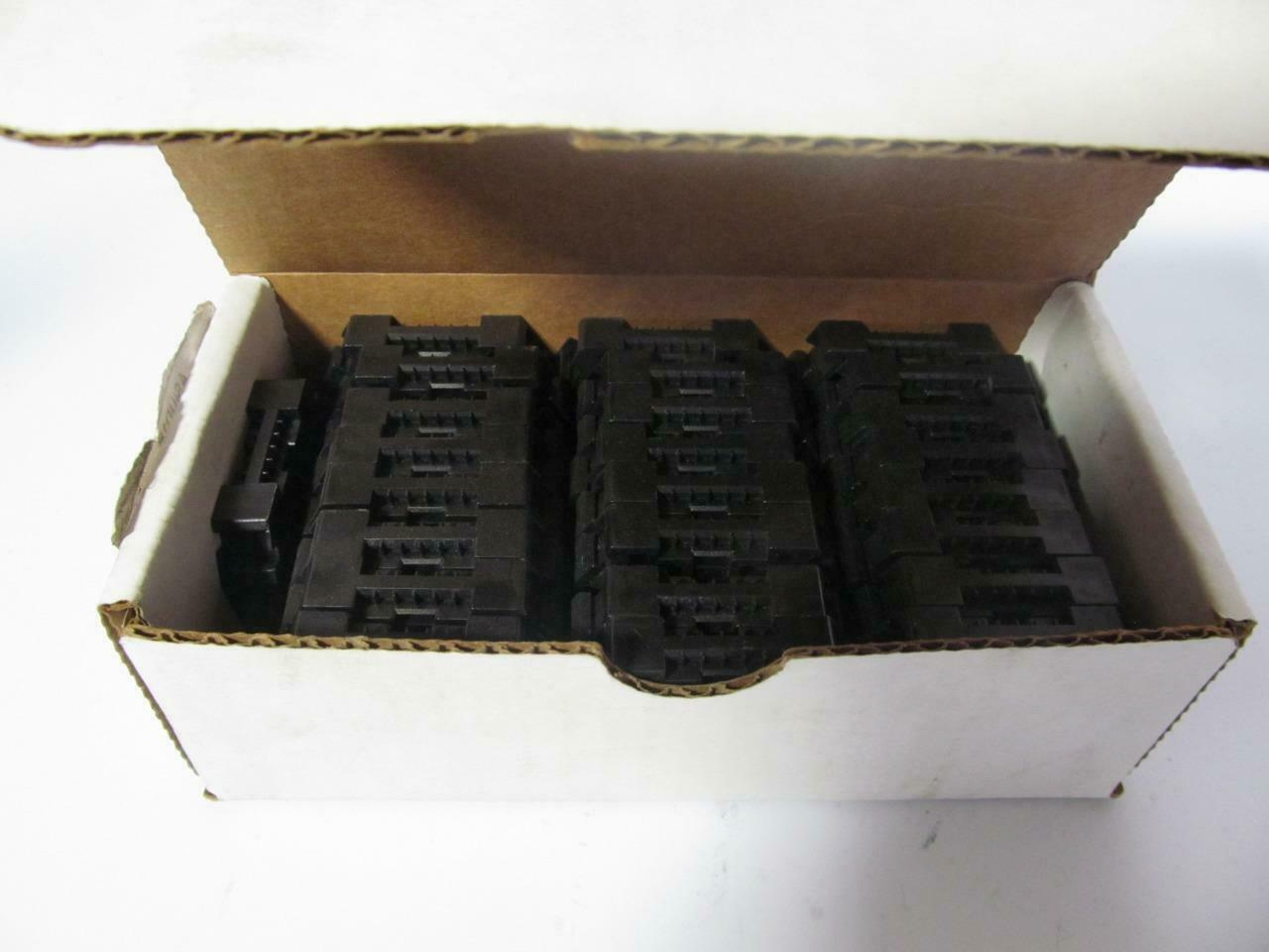 Pack of 25 ASI ASIUD1B Din Rail Mounted Snap-On End Stop End Clamp