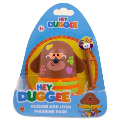 Hey Duggee Duggee et Stick Figurine Pack