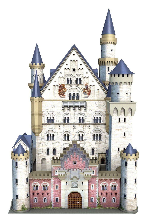 NEU Kinder Schloss Neuschwanstein Teile 3D Puzzle-Bauwerke Spielzeug
