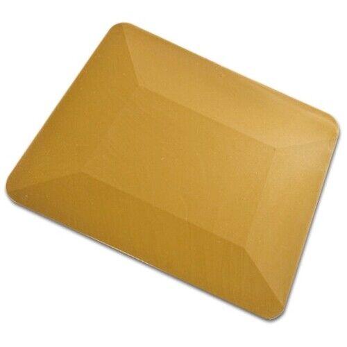 GOLD TEFLON HARD CARD SQUEEGEE