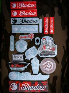 SHADOW CONSPIRACY 2018 STICKER PACK 21 PIECE STICKER STICKERS KIT BMX BIKE NEW