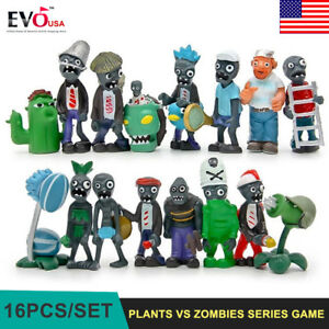16Pcs-Plants-vs-Zombies-Game-Role-Mini-Action-Figures-Toys-PVC-Dolls-Kids-Gift