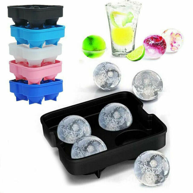 Ice Cube Tray SILICONE Drinks Bar Cocktail Party ON THE ROCKS /& COLD AS ICE