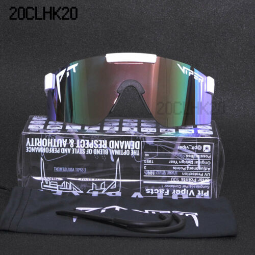 Pit Viper Polarized Cycling Sunglasses Sport Goggles UV400 For Men//Women Outdoor