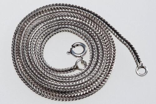 schöne Flechtkette Silberkette 925er  Mittelalter 50 cm x 1,5 mm Wikingerkette