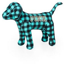 Victorias Secret Pink Mini Dog Limited Edition Mint Plaid Graphic NWT