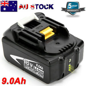 For-Makita-9Ah-18V-Lithium-Battery-BL1890B-LXT-BL1840-BL1860-BL1830-W-LED-Gauge