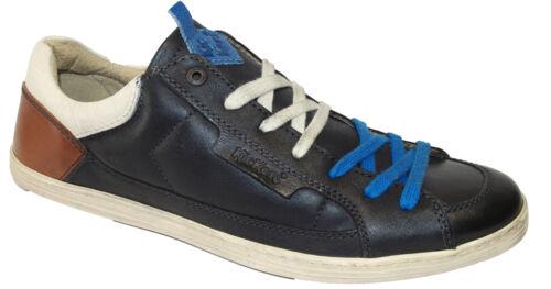 KICKERS AMBASSY Chaussure baskets homme cuir noir
