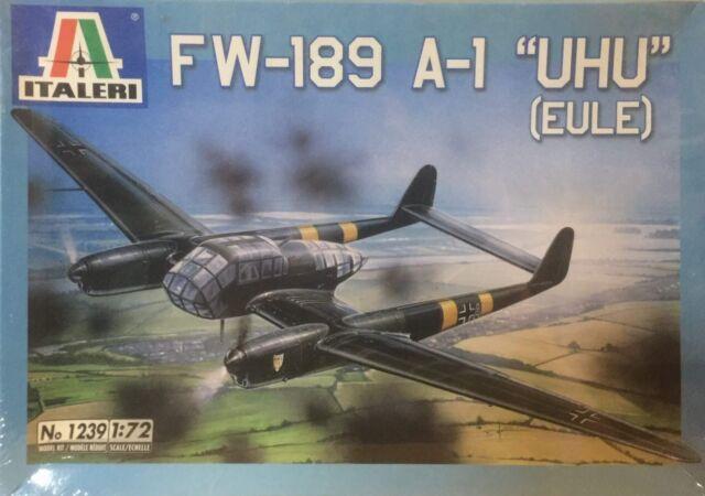 Italeri FW-189 A-1 UHU (Eule) Ref 1239 Escala 1:72