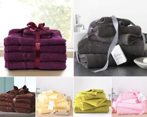 6Pcs-Towel-Bale-Set-100-Egyptian-Cotton-Face-Hand-Bath-Sheet-Bathroom-Towels