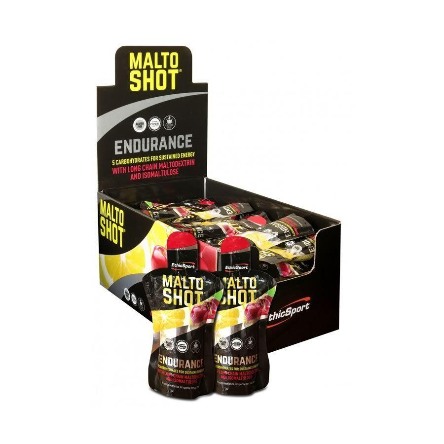 EthicSport MALTOSHOT Endurance CILIEGIA-LIMONE malto - Box da 50 pz Ethic Sport