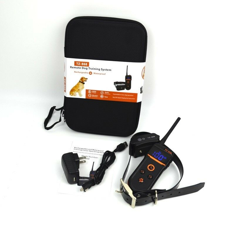 Remote Training Dog Collar Waterproof and Rechargeable 800 Meter Range