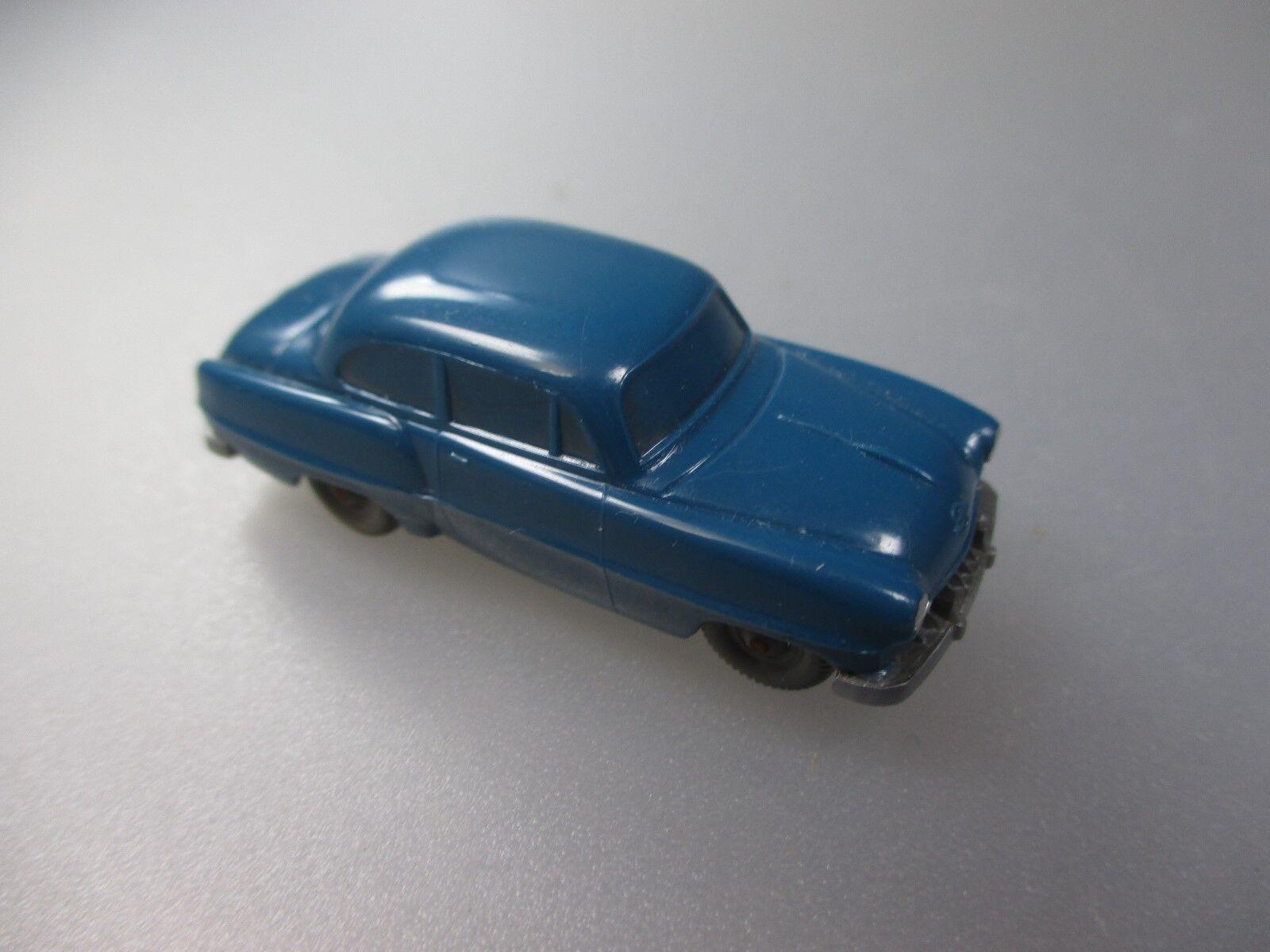 Wiking Opel Olympia Rekord, hellozeanblau, unverglast  (1W)