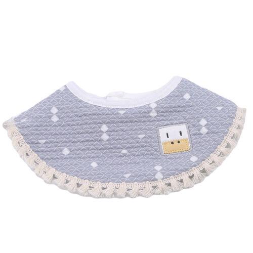 Baby Newborn Bibs 360° Rotation Saliva Towel Burp Cloth Feeding Bandana N7