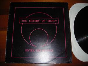 Sisters Of Mercy Enter The Sisters Lp Vinyl Metal Speed (Goth Rock,Dark,Gothic) - Italia - Sisters Of Mercy Enter The Sisters Lp Vinyl Metal Speed (Goth Rock,Dark,Gothic) - Italia
