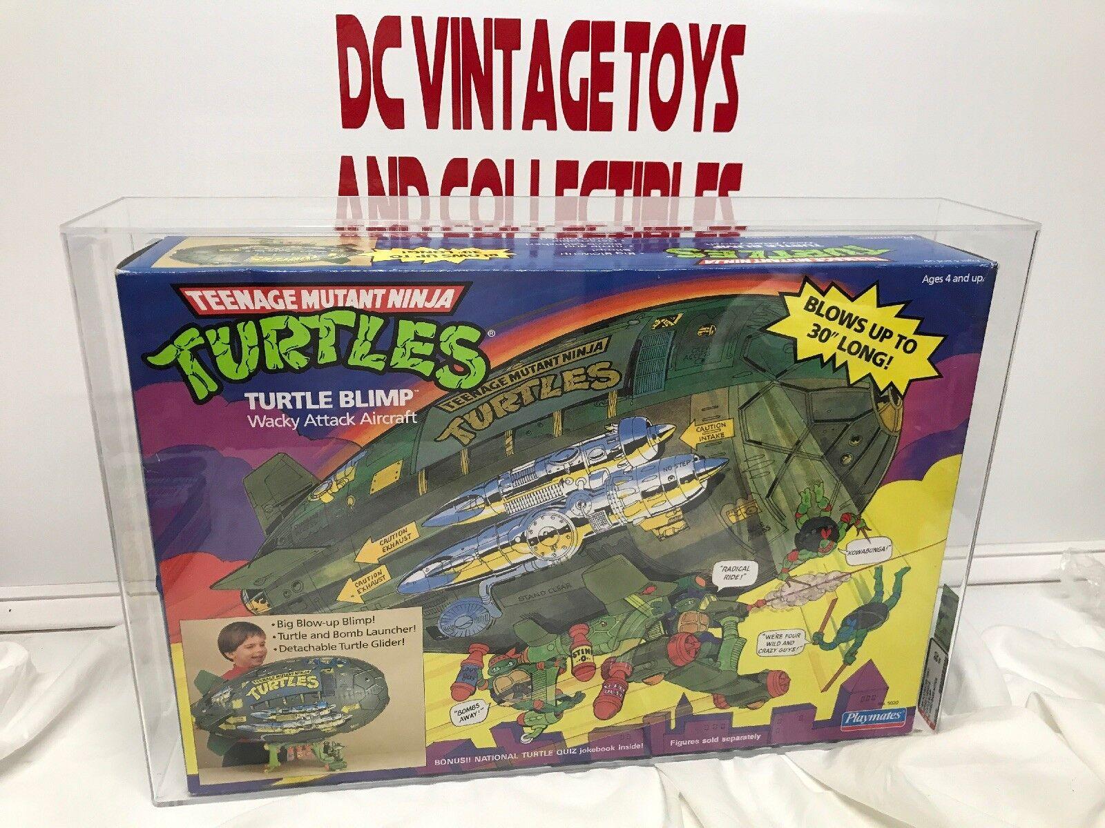 Turtle BLIMP playmates 1989 series 1 AFA GRADED 80 VEHICLE TMNT Video Game Offer
