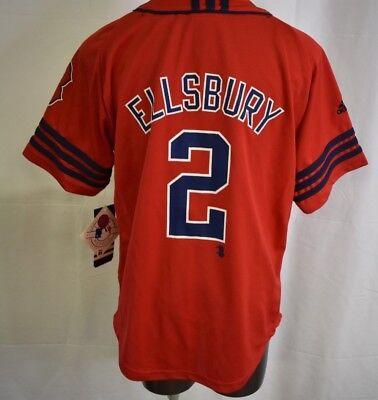 Baseball & Softball Adidas Mlb Jugendliche Boston Red Sox Jacoby Ellsbury Baseballtrikot Nwt M Lassen Sie Unsere Waren In Die Welt Gehen Weitere Ballsportarten