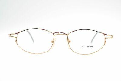 Amabile Vintage Magema M24 48 [] 17 140 Oro Ovale Occhiali Montatura Eyeglasses- Medulla Benefico A Essenziale