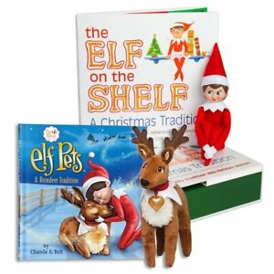 The Elf on the Shelf: A Christmas Tradition Blue Eyed North Pole Elf Girl with T